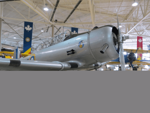 Canadian Warplane Heritage Museum - aircraft with Snoopy logo