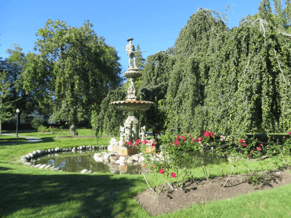 Halifax Public Gardens - Boer War Memorial Fountain
