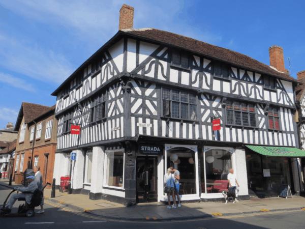 Stratford-upon-Avon-Timbered Buildings