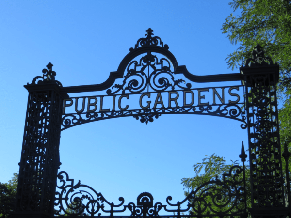 Halifax Public Gardens Entrance Gate