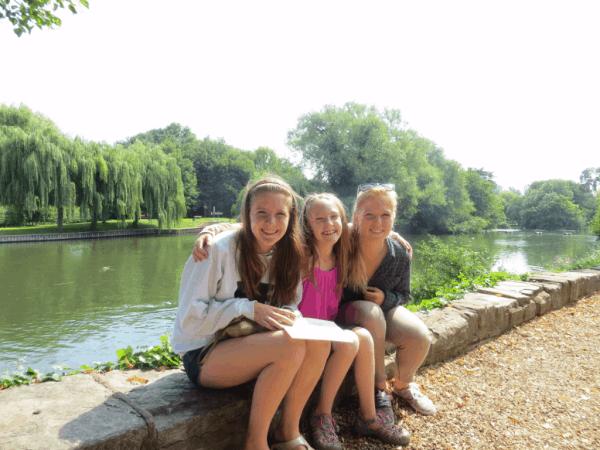 Stratford-upon-Avon - Sitting on the banks of the Avon River