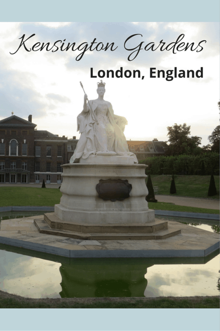 Kensington Gardens, London, England - Gone with the Family