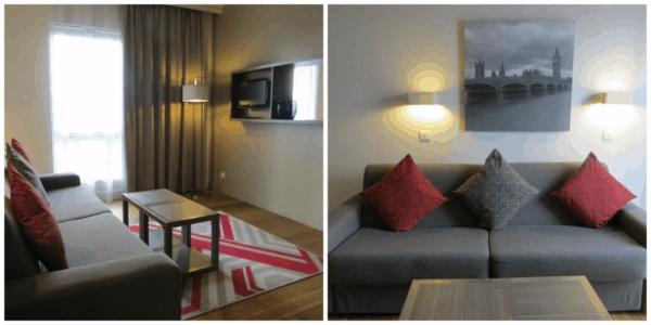Citadines-Trafalgar-Square-London-1 Bedroom-Living-Collage