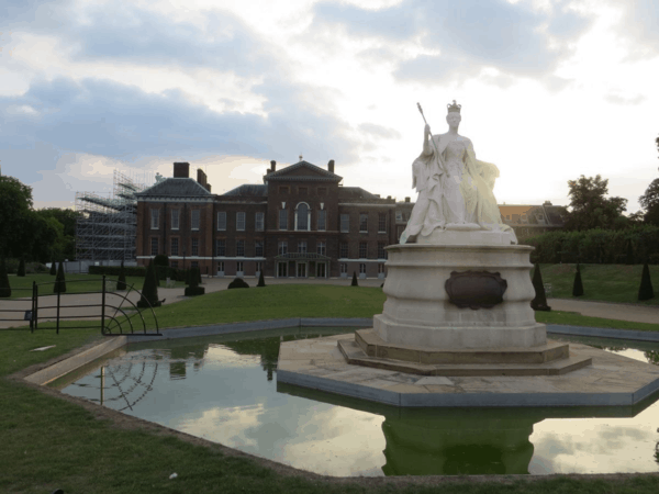 Kensingon Gardens - London - Kensington Palace