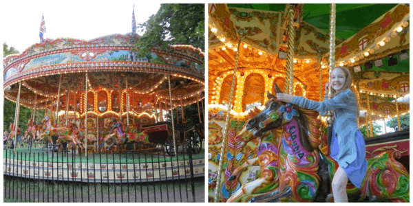 London-Kensington Gardens Carousel