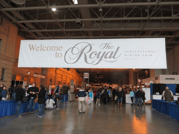 The Royal Agricultural Winter Fair in Toronto
