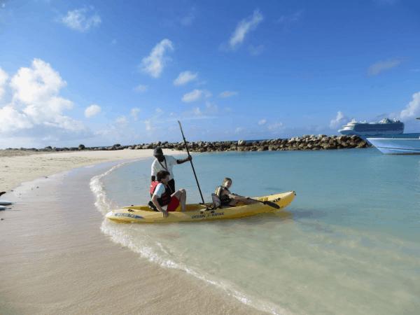Bahamas-Princess-Cays-kayaking