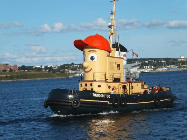 Theodore Tugboat, Halifax Harbour, Nova Scotia, Canada
