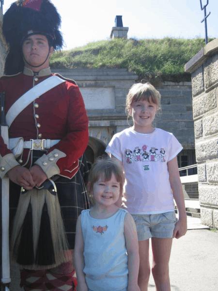 Halifax-Nova Scotia-Canada-Citadel-guard