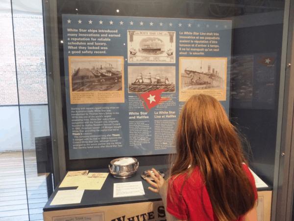 Halifax-Maritime Museum of the Atlantic-Titanic exhibit