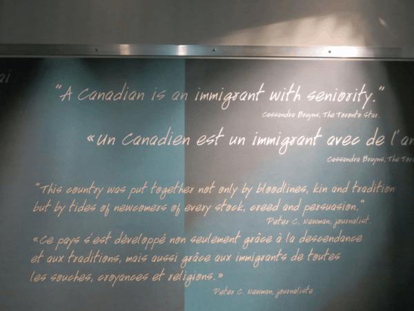 Halifax-Pier 21-quotes