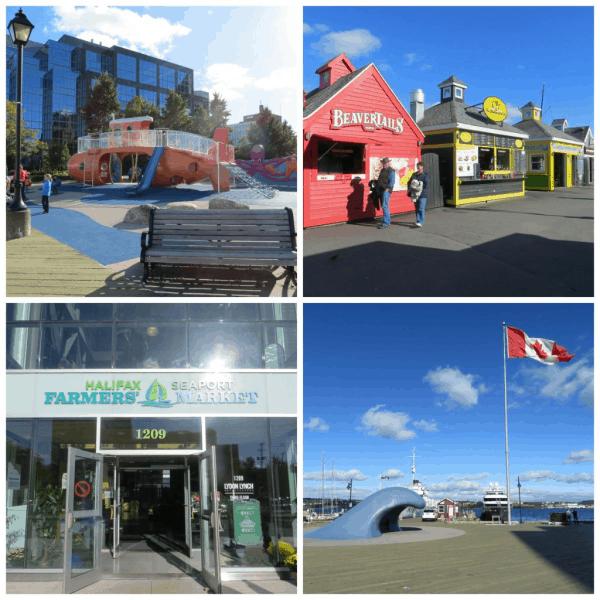 Halifax waterfront-collage