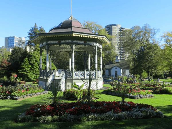Halifax Public Gardens-Bandstand