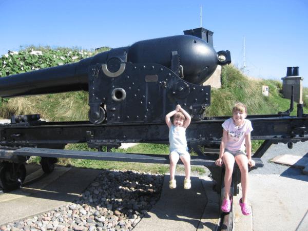 Halifax-Nova Scotia-Canada-Citadel-cannons