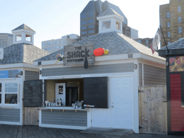 The Shack Oyster Bar on Halifax Waterfront