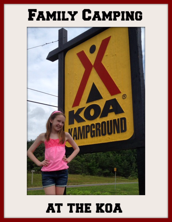 Family Camping at the KOA-Gone with the Family