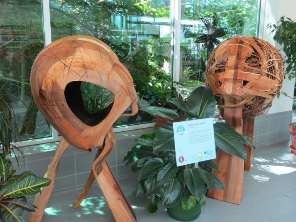 Royal botanical gardens-earth art exhibition-venus and marte