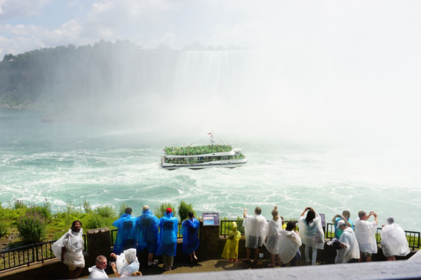 Niagara falls-journey behind the falls-outdoor observation deck