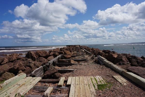 Prince edward island national park-north rustico-old pier