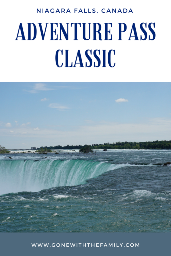 Using a Niagara Falls Adventure Pass Classic - Gone with the Family
