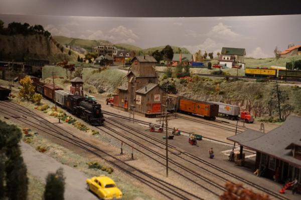 St jacobs and aberfoyle model railway