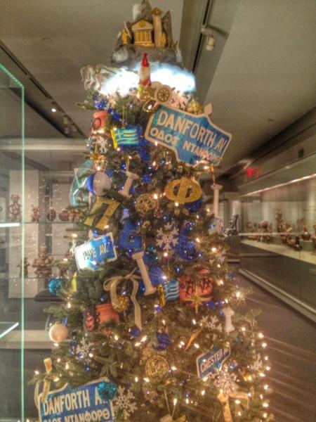 Gardiner museum-toronto-12 trees of christmas-greektown