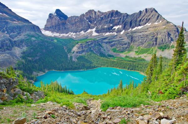 Canada-British Columbia-Yoho National Park-Lake O'Hara