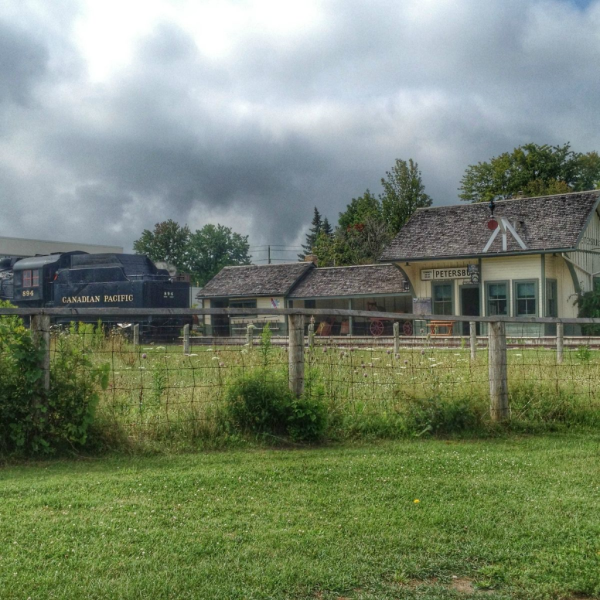 Waterloo region-doon heritage village-train station-instagram-july 2014