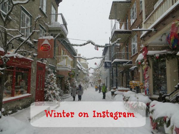 Winter on Instagram