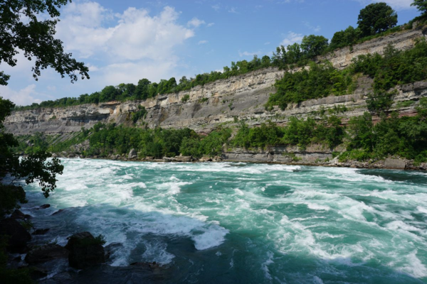 Fun things to do in Niagara falls-along white water walk