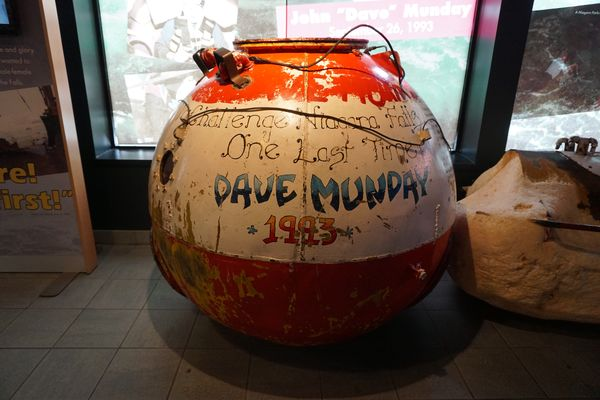 Niagara falls-daredevil exhibit-barrel