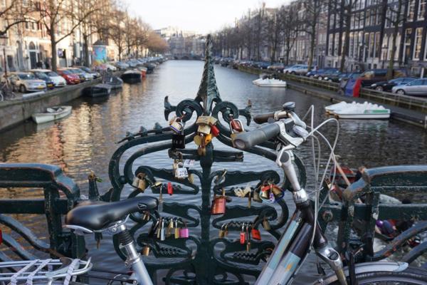 Amsterdam-canal-bridge-locks