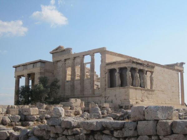 Greece-Athens-Acropolis-Porch-of-the-Caryatids