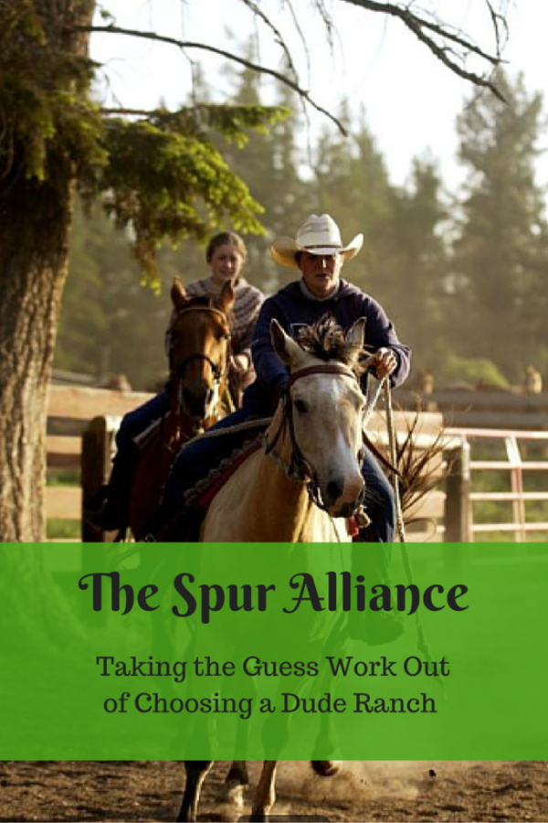 The Spur Alliance - Taking the Guess Work Out of Choosing a Dude Ranch - Gone with the Family