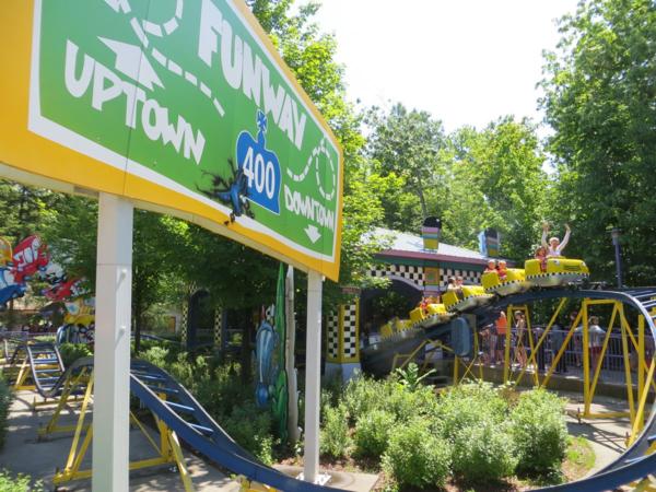 Kidzville roller coaster Canada's Wonderland