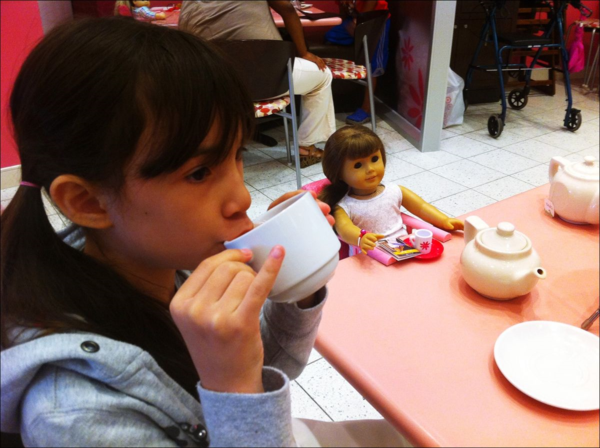 American Girl Place-AG-afternoon tea