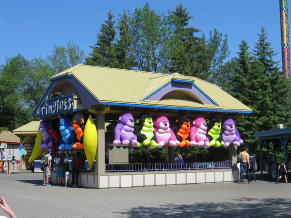 Canada's wonderland-carnival games