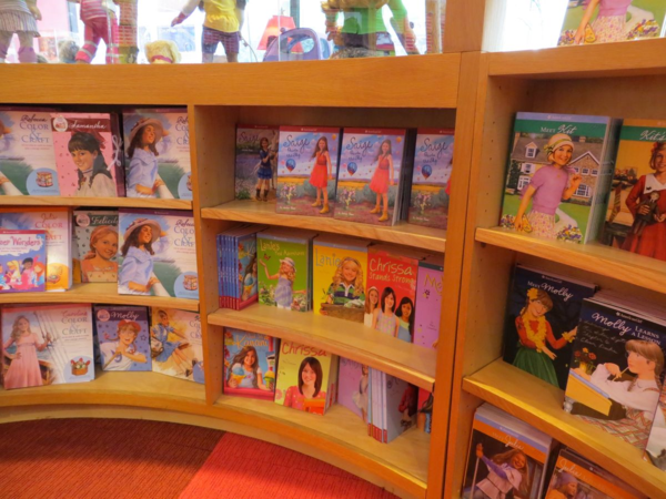 American girl place-new york city-bookstore