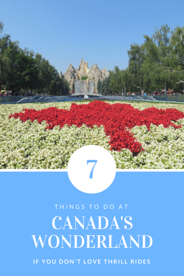 Canada's Wonderland - 7 Things to do if you don't love thrill rides - Gone with the Family