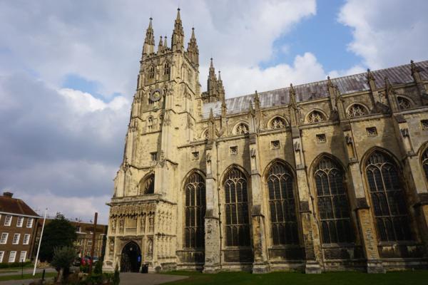 United kingdom-canterbury cathedral-exterior
