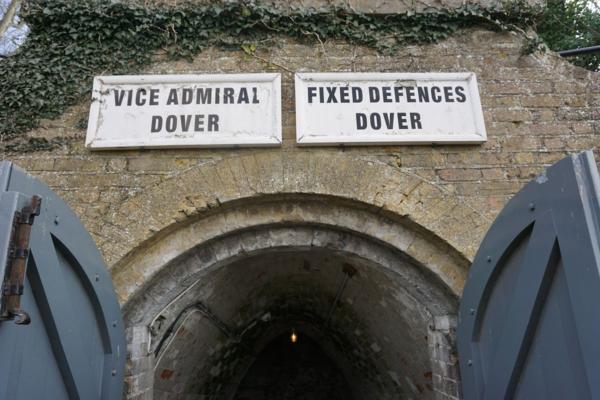 England-dover castle-wartime tunnels entrance