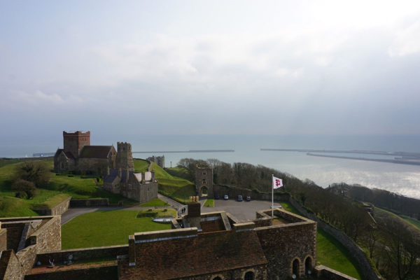 England-dover castle-a view from the great tower