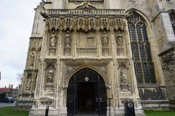 England-canterbury cathedral-christ church gate