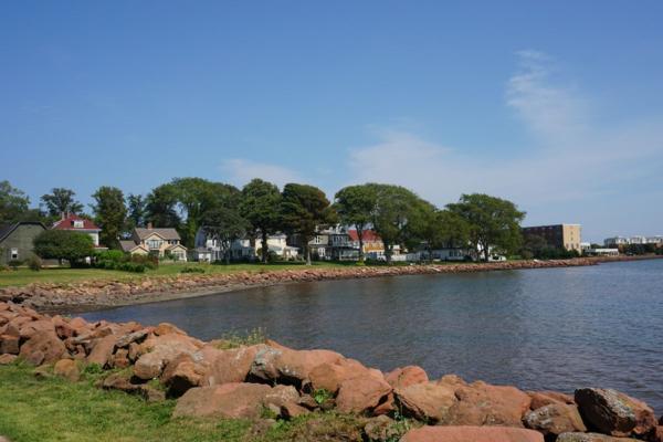 Prince edward island-charlottetown waterfront