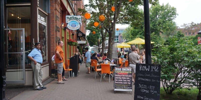 Victoria Row-Charlottetown-Prince Edward Island-Canada