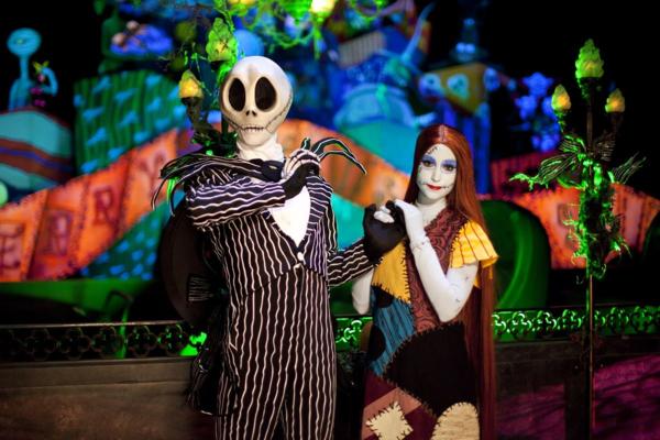 Disneyland-halloween-nightmare before christmas-jack skellington and sally
