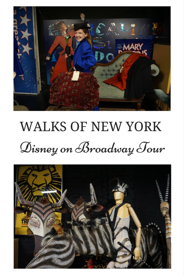 Walks of New York-Disney on Broadway Tour - Gone with the Family