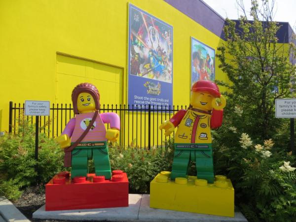 Outside LEGOLAND Discovery Centre Toronto