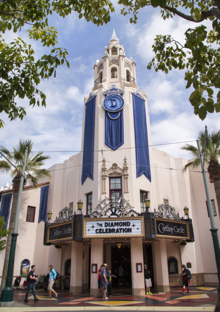 Disneyland-california adventure-carthay circle-diamond celebration