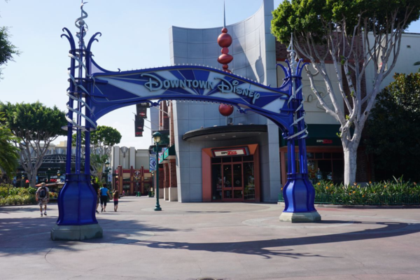 California-disneyland-downtown disney entrance